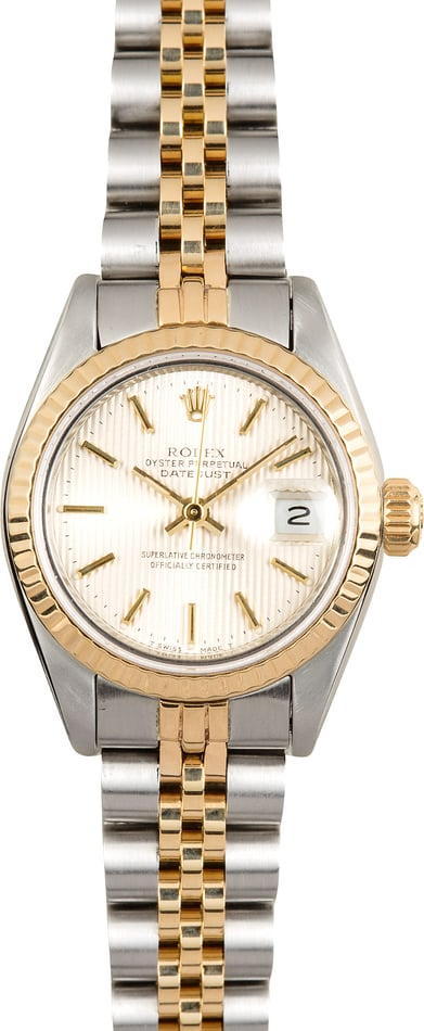 Rolex Two-Tone Ladies Datejust 69173 Tapestry