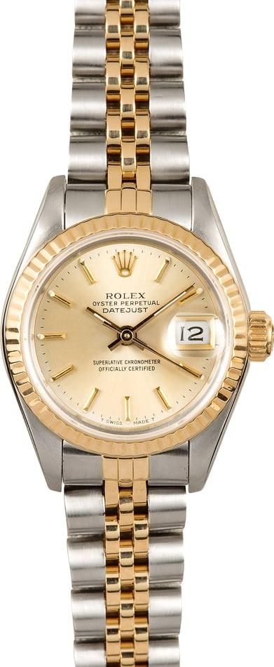 Rolex Two-Tone Oyster Perpetual Lady-Datejust 69173