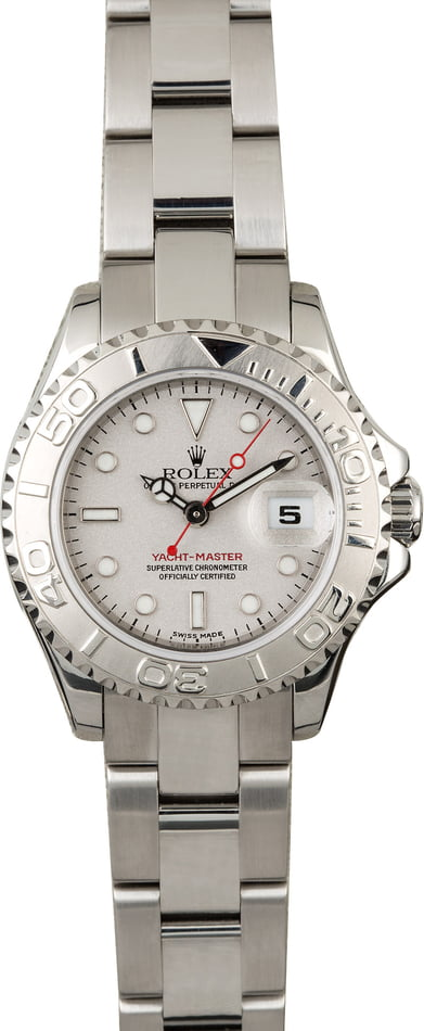 PreOwned Rolex Yacht-Master 169622 Mid-Size 29MM