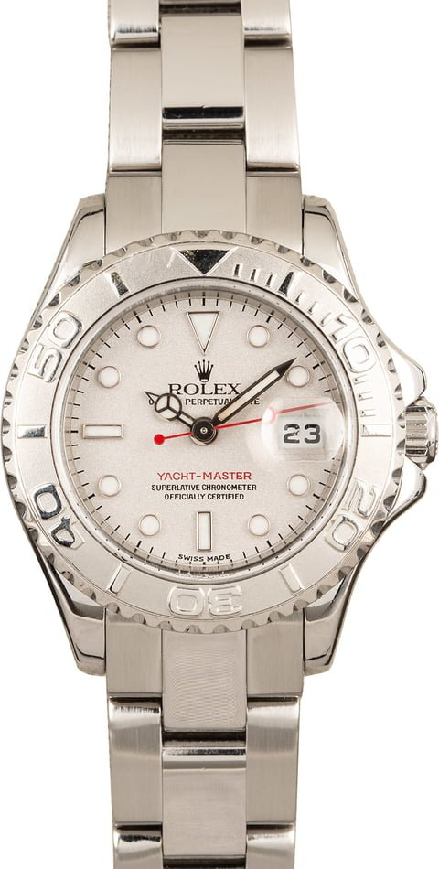 Rolex Yacht-Master 169622 Stainless Steel and Platinum
