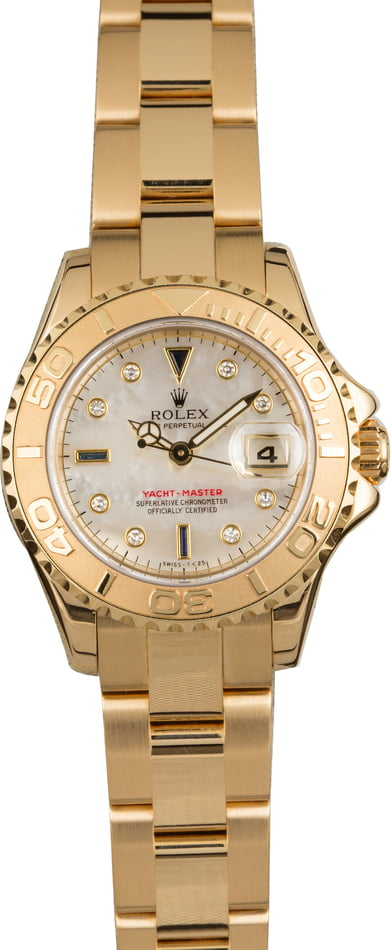Rolex Yacht-Master 169628 Mother of Pearl
