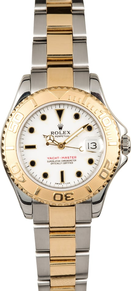 Two Tone Rolex Yacht-Master 35MM 68623