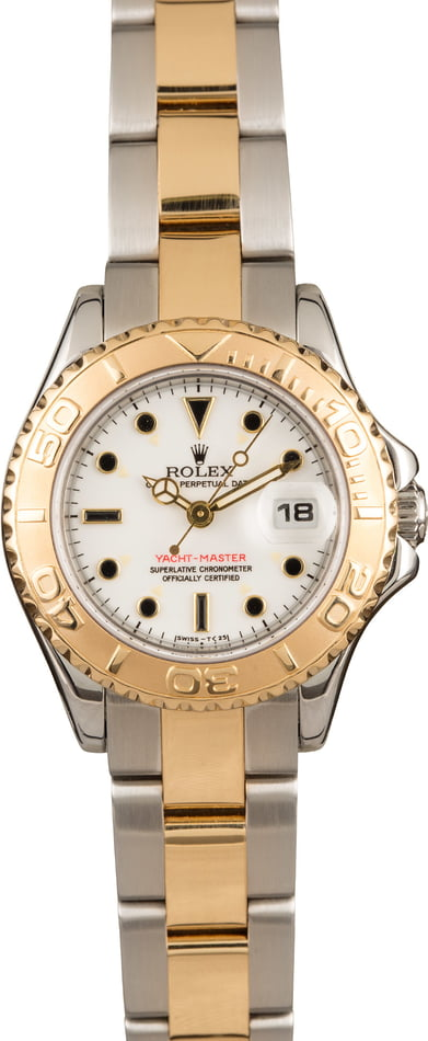 Lady Rolex Yacht-Master 69623 Two Tone