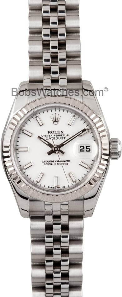 Rolex Lady Datejust 179174 Luminous Markers