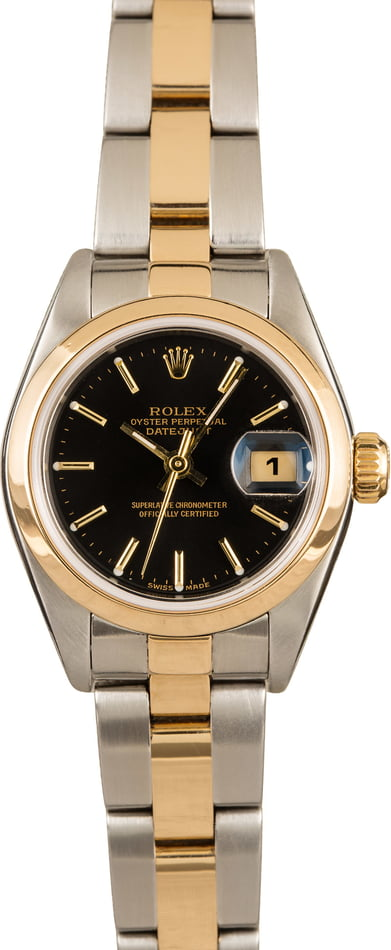 Rolex Lady Datejust 79163 Black Index
