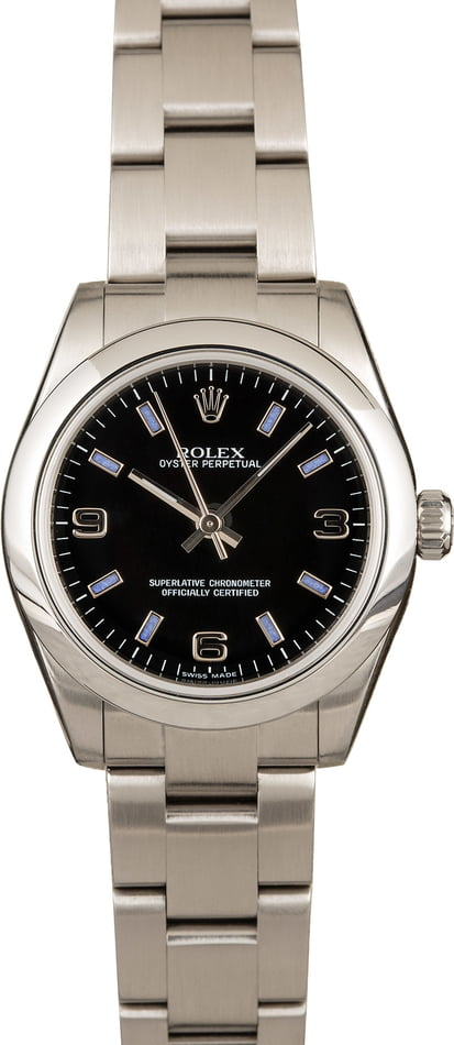 PreOwned Rolex Oyster Perpetual 177200 Mid-Size
