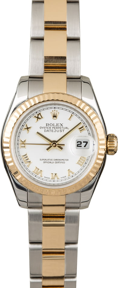 Used Rolex Datejust 179173 Roman Dial