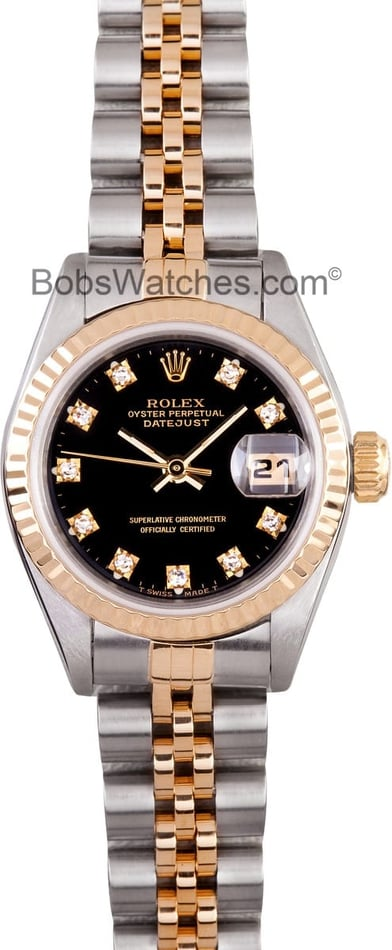 Lady Diamond Datejust 69173