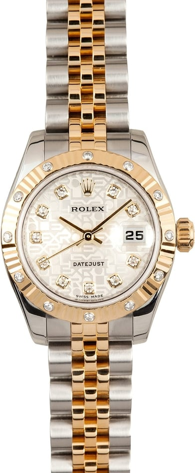 Diamond Rolex Datejust 179313
