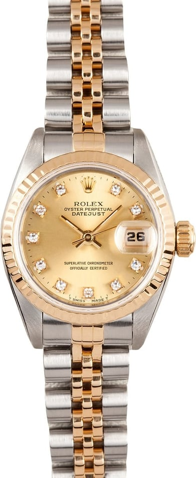 Lady Rolex Diamond Datejust 69173