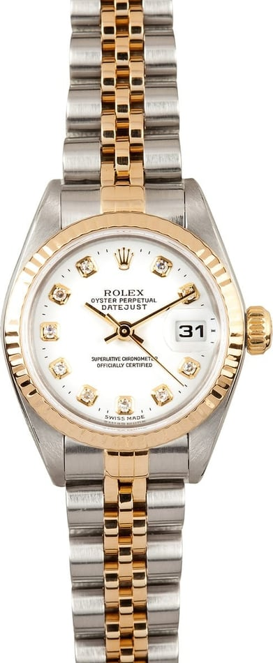 Ladies Rolex Diamond Dial 79173