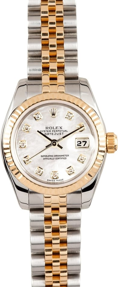used rolex datejust 179173 save at bob s