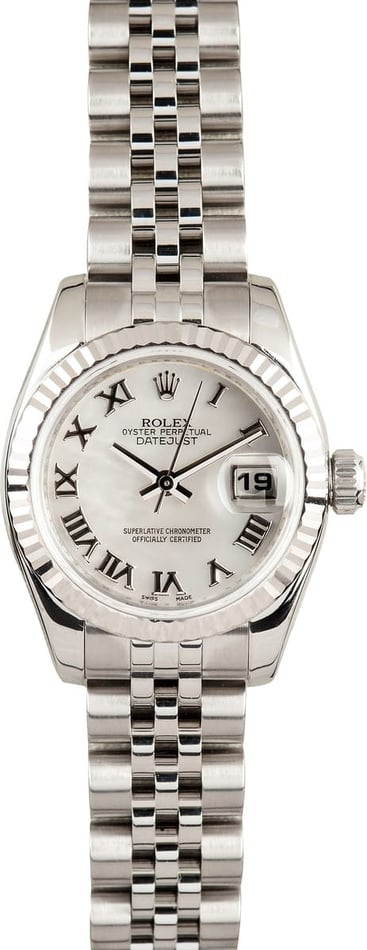 Ladies Rolex DateJust MOP dial