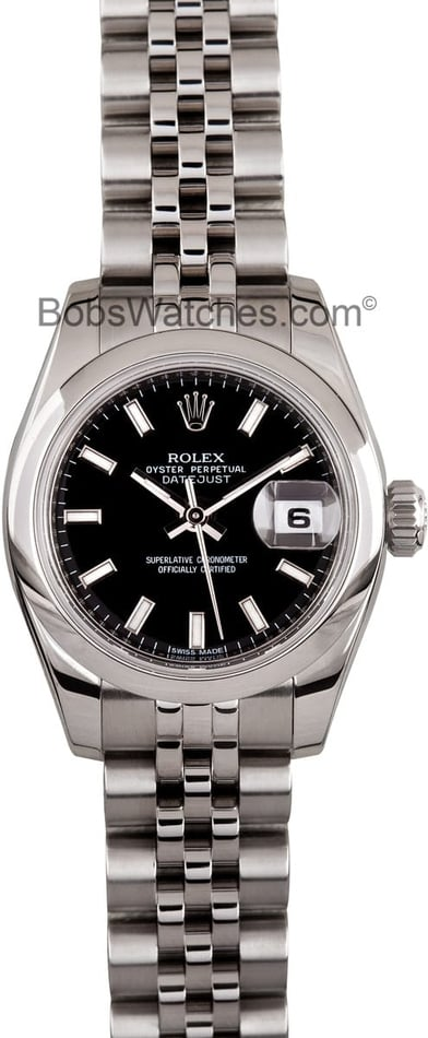 Ladies Pre Owned Rolex DateJust 179160
