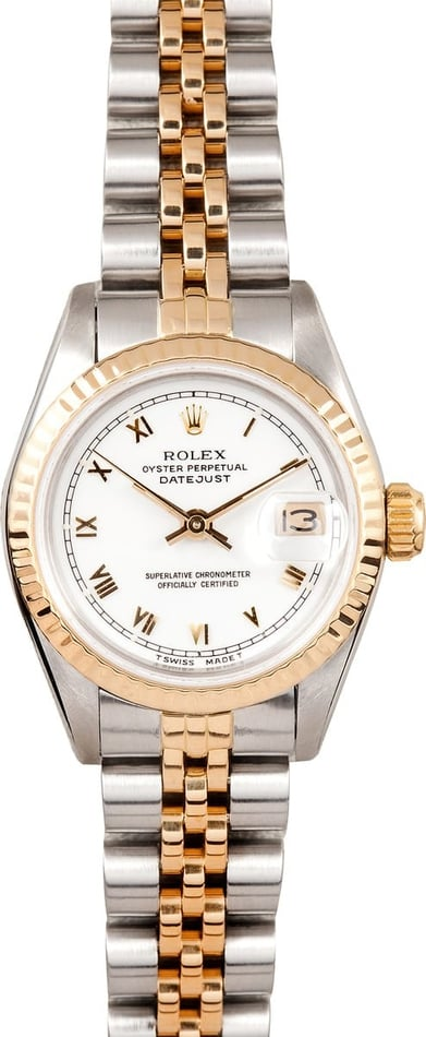 Rolex Two tone Ladies Datejust 69173