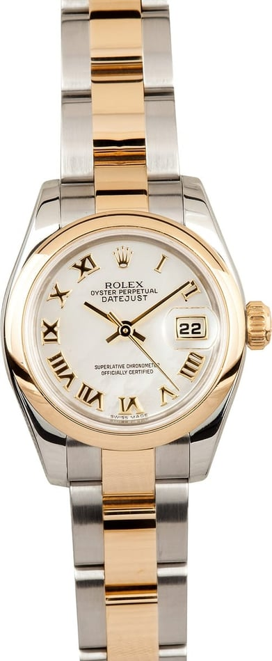 Rolex Pre-Owned Ladies Datejust Watch 179173