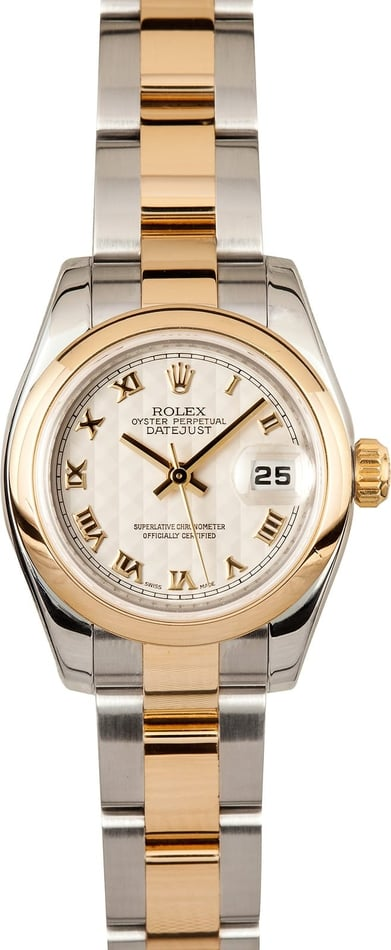 Used Ladies Rolex Datejust 179163