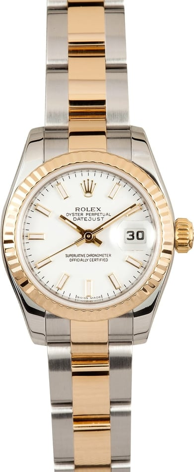 Ladies Rolex DateJust 179173 Oyster