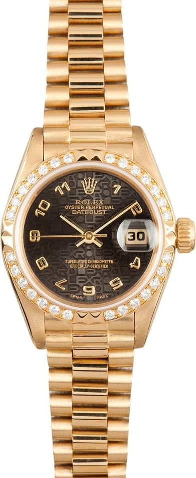 18K Lady Rolex Datejust 69268