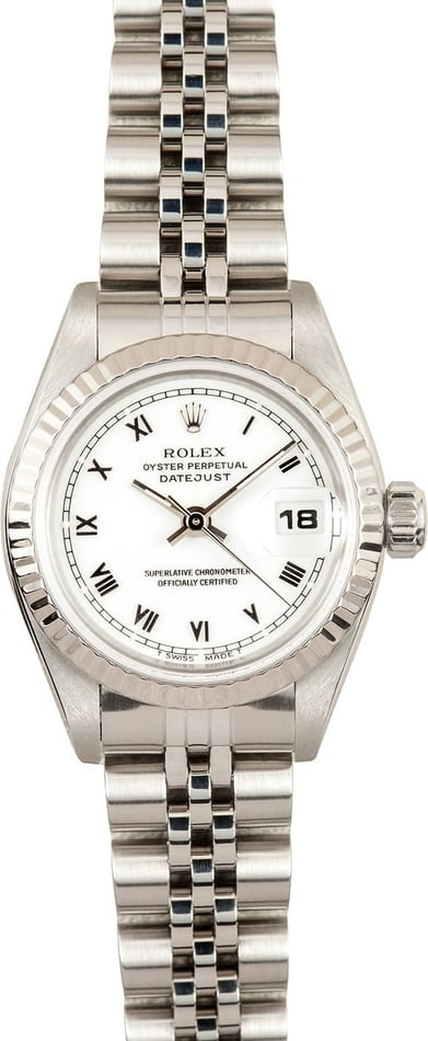 Ladies Rolex DateJust Steel 69174