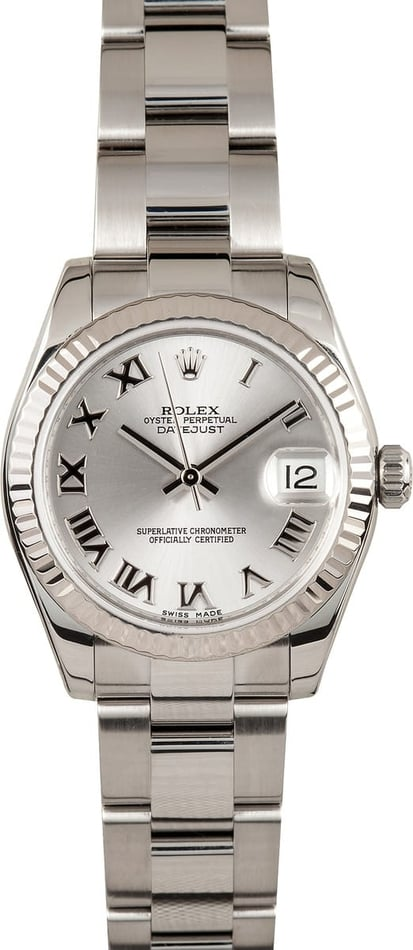 Mid-size Rolex Datejust Midsize Watch 178274