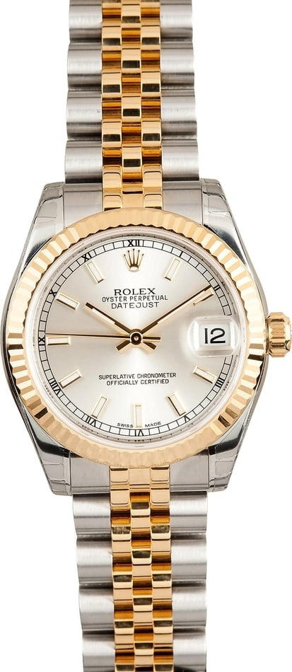New Rolex Ladies MidSize Datejust 178273