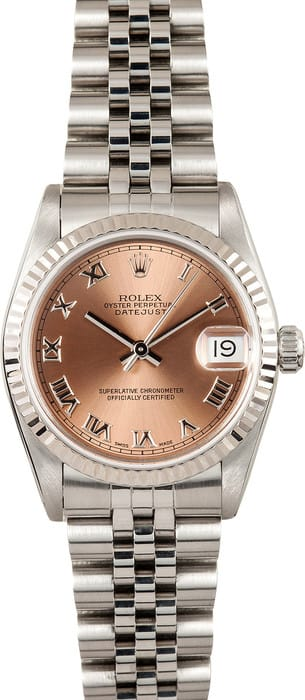Pre Owned Rolex Datejust Midsize Watch 68274