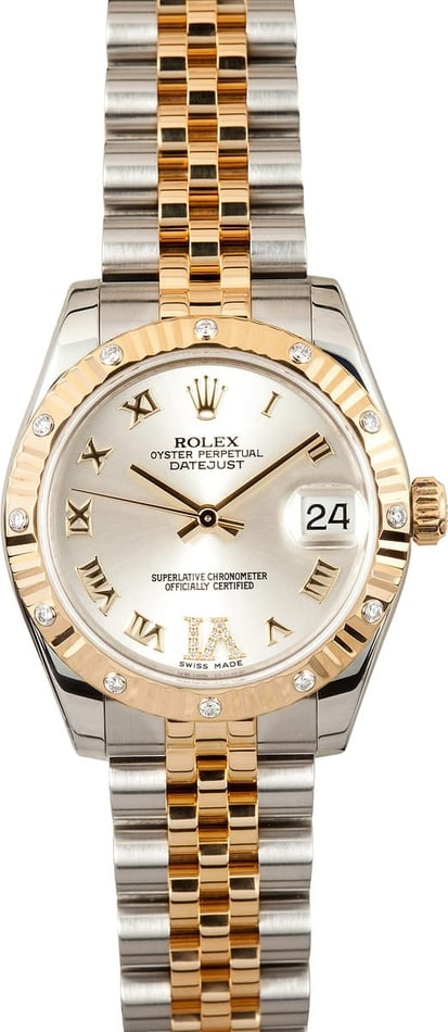 Ladies Rolex MidSize Datejust