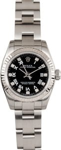 Ladies Rolex Oyster Perpetual Diamond Dial