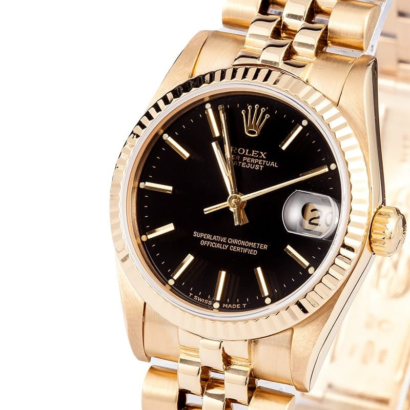 18K Rolex Presidential Midsize Watch 68278