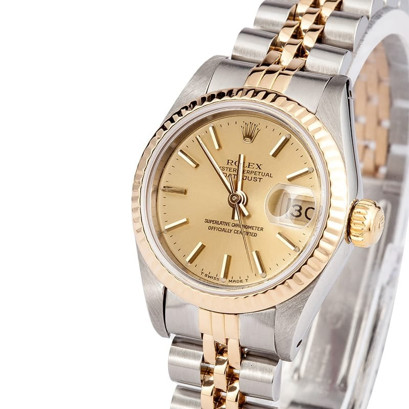 Used Rolex Ladies Oyster Perpetual Date 69173