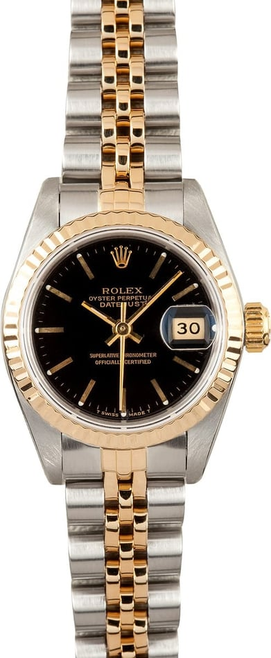 Pre Owned Ladies Rolex Datejust 69173