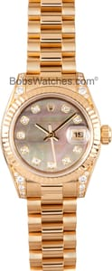 Pre Owned Rolex Ladies President Watch