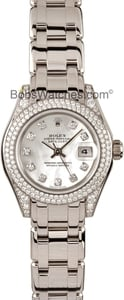 Rolex Masterpiece Pearlmaster 80359 Ladies