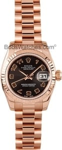 Rolex Ladies President Rose Gold