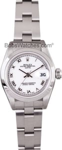 Pre-Owned Ladies Rolex Perpetual Date Model 79160 2