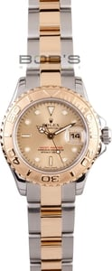 Rolex Yachtmaster Ladies 18k Gold & Steel 169623