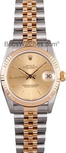 Pre Owned Rolex Datejust Midsize Watch 68273