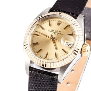 Pre-Owned Ladies Rolex Date 6916