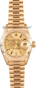 Ladies 18K Rolex Datejust