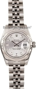 Ladies Rolex DateJust Diamond Dial 179174