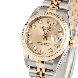 76eab1a00a0 Rolex Lady DateJust - Buy it Now For $3995 at Bob's Watches