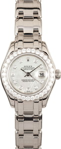 Ladies Rolex Pearlmaster 80299