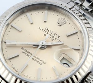 Ladies Rolex DateJust Oyster Perpetual Steel 69174