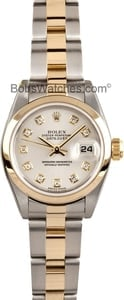 Ladies Rolex Datejust Diamond Dial 79163