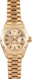 Rolex Ladies 18K Datejust 69178