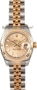 Datejust Ladies Two Tone 179173