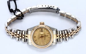Ladies Used Rolex Tapestry Dial 69173