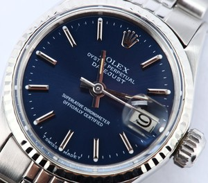 Ladies Rolex DateJust Oyster Perpetual Steel 6917