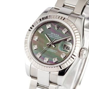 Ladies Rolex Mother of Pearl Diamond